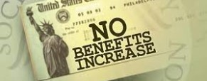 NO COST OF LIVING FOR 2016 SOCIAL SECURITY